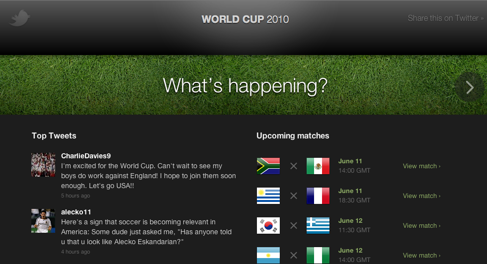 world cup on twitter